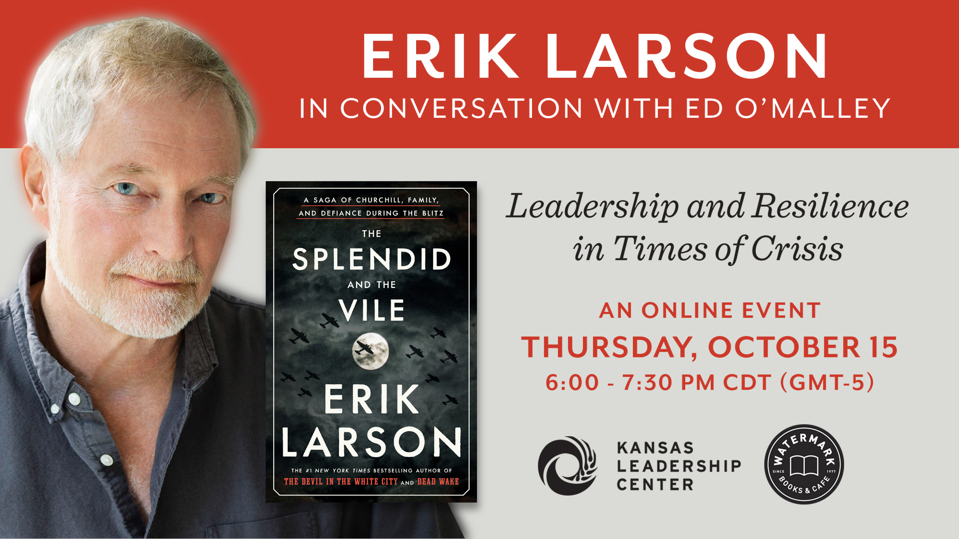 Erik Larson and Ed O'Malley