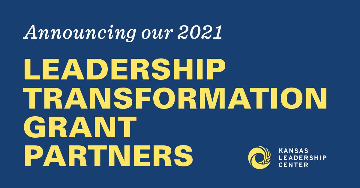 Graphic Announcing 2021 Transformation Grant Recipients