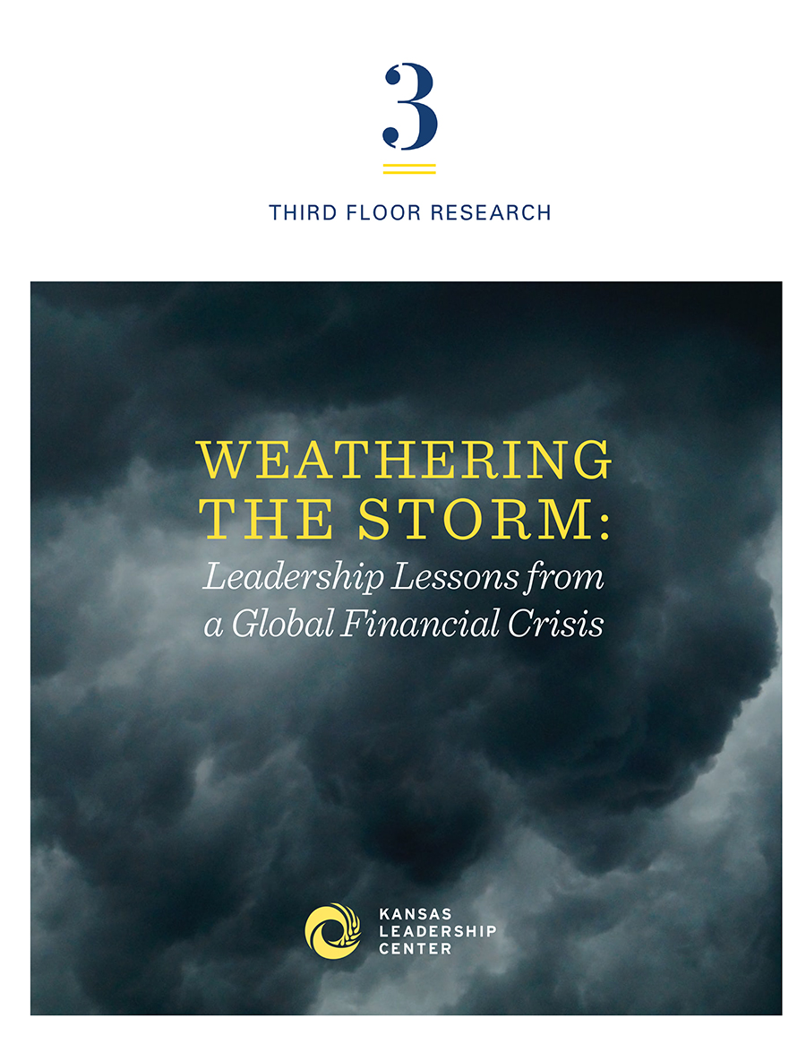 Weathering the Storm - Report Cover Page
