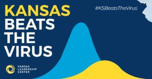 Kansas Beats the Virus logo