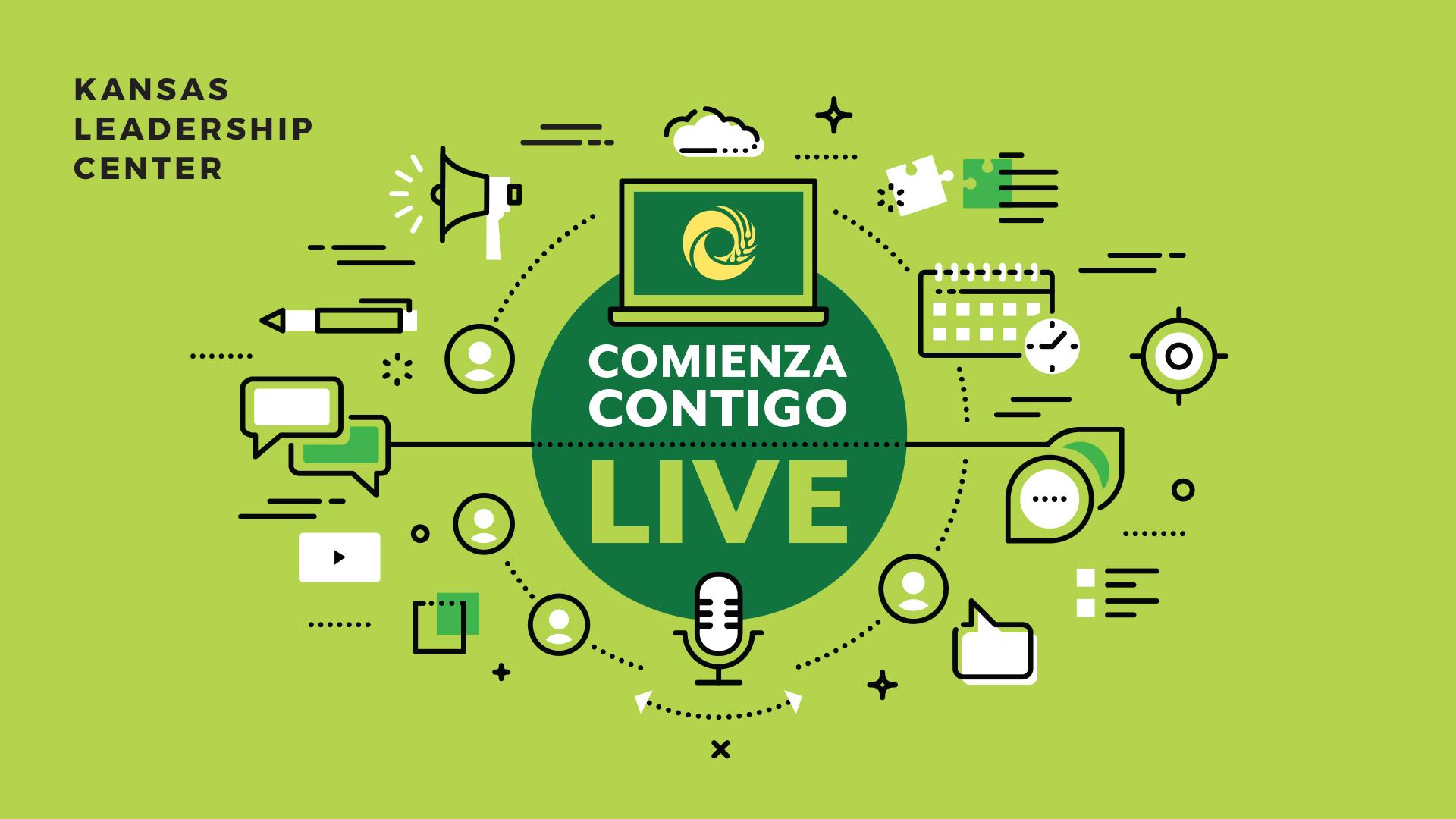 Comienza Contigo LIVE Green graphic